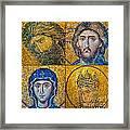 Hagia Sofia Mosaics Framed Print