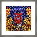 Hall Of The Color King Framed Print