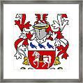 Halloran Coat Of Arms Irish Framed Print