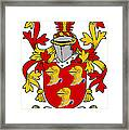 Hamley Coat Of Arms Irish Framed Print