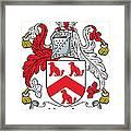 Hamlin Coat Of Arms Irish Framed Print