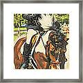 Hang On Tight To Your Painted Horse Framed Print