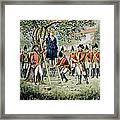 Hanging Of Nathan Hale Framed Print