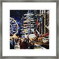 Hanse Sail Rostock Germany Framed Print