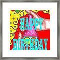 Happy Birthday 1 Framed Print