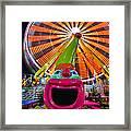 Happy Clown Framed Print