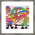 Happy People Horns Framed Print by Glenn Calloway