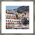 Harbor, Kalkan, Turkey Framed Print