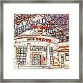 Hard Rock Tweaked Framed Print