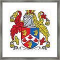 Hardiman Coat Of Arms Irish Framed Print