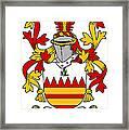 Hare Coat Of Arms Irish Framed Print