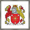 Harrell Coat Of Arms Irish Framed Print