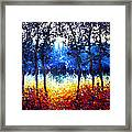 Hart Of The Magic Forest Framed Print