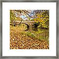 Hartford Bridge In Autumn Framed Print