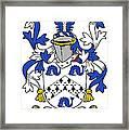 Hassett Coat Of Arms Irish Framed Print