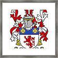 Haugher Coat Of Arms Irish Framed Print