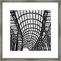 Hay's Galleria Roof Framed Print