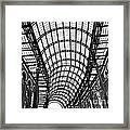 Hay's Galleria Roof Framed Print