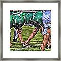 Head To Head Framed Print