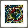 Healer Spirit Eye Framed Print