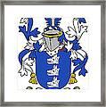 Healey Coat Of Arms Irish Framed Print