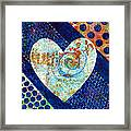 Heart Of Hearts Series - Elated Framed Print