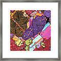 Heart Of Lipari - 3 Framed Print