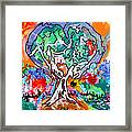 Heart Of The Subconscious Framed Print
