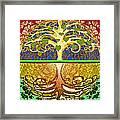 Heart Tree Framed Print