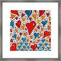 Hearts For You Framed Print