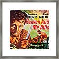 Heaven Knows, Mr. Allison, L-r Robert Framed Print