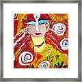 Helianna - Angel Of Divine Serenity Framed Print