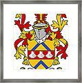Hemphill Coat Of Arms Irish Framed Print
