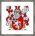 Henn Coat Of Arms Irish Framed Print