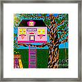 Her Tree House Framed Print