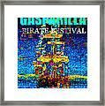 Here Comes Gasparilla Framed Print