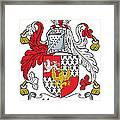 Hewson Coat Of Arms Irish Framed Print