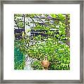 Hey What Are You Looking At Framed Print