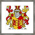 Heyne Coat Of Arms Irish Framed Print