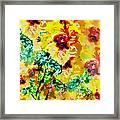 Hibiscus Impressionist Framed Print