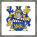 Hickey Coat Of Arms Irish Framed Print