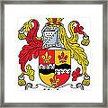 Hicks Coat Of Arms Irish Framed Print