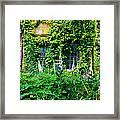 Hidcote Windows Framed Print