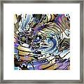 Hidden Chaos Of Order Framed Print