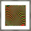 High Definition Color 5 Framed Print