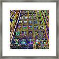 Highrise Surprise Framed Print