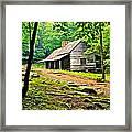 Hillbilly Heaven Framed Print