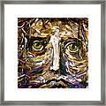 Him Framed Print by Michelle Dommer