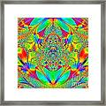 Hippies Unite Framed Print