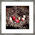 Historic Christmas Wreath Framed Print
